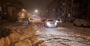 Kahramanmaraş'a Kar Yağıyor, Okullar Tatil