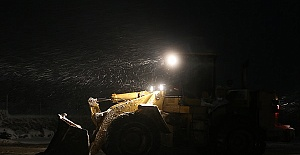 Kahramanmaraşta Yoğun Kar Yağışı