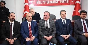 Çelik, MHP'yi Ziyaret Etti