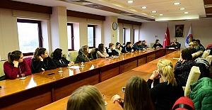 Rektör Yabancı Öğrencileri KSÜ'ye Davet Etti