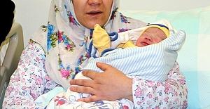 Yeni Yılın İlk Bebeği İbrahim