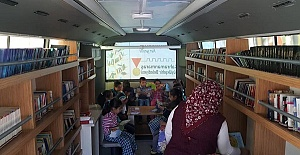 Gezici Kütüphane 13 Bin Öğrenciye Ulaştı