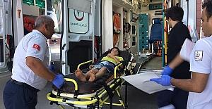 Elektrik Çarpan Çocuk Yaralandı
