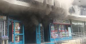 Markette Yangın Çıktı
