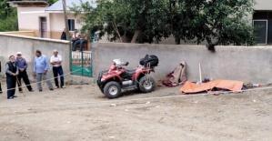Duvara Çarpan Sürücü Öldü