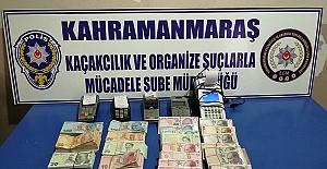 Kahramanmaraş'ta Tefeci Operasyonları
