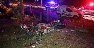 Motosiklet Kazasında 1 Ölü 1 Yaralı