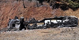 Yanan Tankerin Sürücüsü Öldü