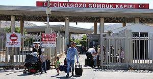 Tatiline Giden Suriyeliler Dönüyor