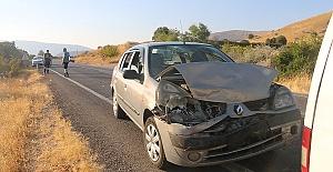 Konvoyda Kaza 11 Yaralı