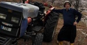 Kullandığı Traktörden Düşüp Öldü