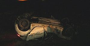 Otomobil Tırla Çarpıştı 2'si Ağır 7 Yaralı
