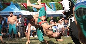Kahramanmaraş'ta Şalvar Güreşi