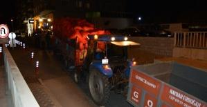 Kamyoneti Traktör Durdurdu