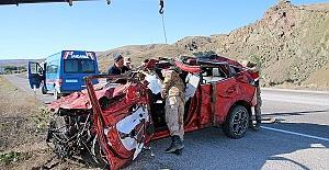 Kazada Baba ve 3 Oğlu Öldü