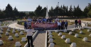 Muhtarlar Bursa ve Çanakkale'yi Gezdi