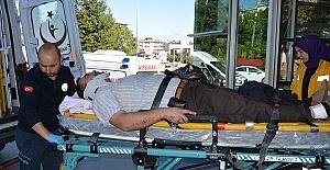 Şarampole Düştü 5 Yaralı