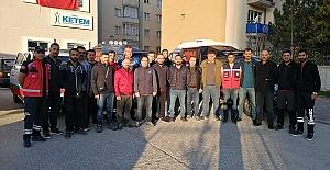 Sağlık Personeli Barış Pınarı Harekatı'nda