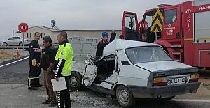 Afşinde Trafik Kazası 1 ölü...