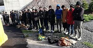 Kaçak Afganistanlılar Yakalandı