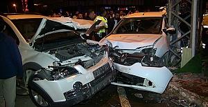 Kahramanmaraş'ta Kaza 4 Yaralı
