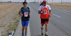 Kahramanmaraş'ta Ultra Maraton Koşuldu