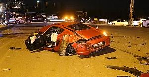 Trafik Kazası 1 ölü 1 yaralı