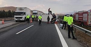 Trafik Terörü 1 ölü 6 yaralı