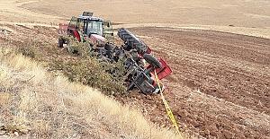 Traktörün Altında Kaldı Öldü