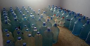 61 Ton Sahte İçki Ele Geçirildi