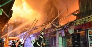 İş Yerlerinde Yangın Çıktı