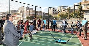 Kaymakam ve Başkan Badminton Oynadı