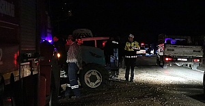 Kazada 2'si Ağır 6 Kişi Yaralandı