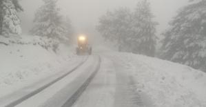 Kahramanmaraş'ta Kar Çalışmaları