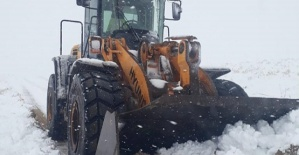 Kahramanmaraş'ta Karla Mücadele Başladı