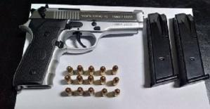 Silah Hırsızı Tutuklandı