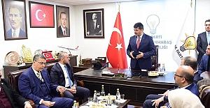 AK Parti Genel Başkan Yardımcısı Kahramanmaraş'ta