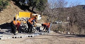 Andırın'da 7 Bin Metrekare Parke Döşeniyor