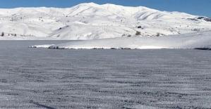 Barajlar Buz Tuttu Köylere Ulaşım Yok