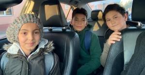 Çocuklara Makam Aracı Tahsis Edildi
