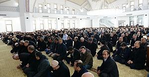 KSÜ'deki Yeni Camide İlk Namaz Kılındı