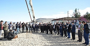 Türkoğlu'nda Sosyal Tesislerin Temeli Atıldı