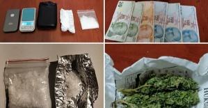 Uyuşturucu Operasyonu 10 Kişi Yakalandı