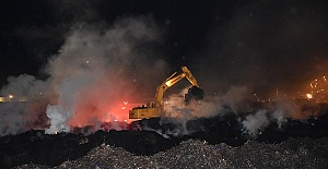 Fabrikadaki Yangın Söndürüldü