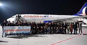 Öğrenciler Uçakla Ankara Gezisine Gitti