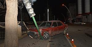 Otomobiller Çarpıştı 5 Yaralı