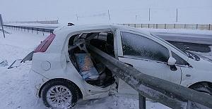 Polis Kaza Yaptı 1 Ölü 3 Yaralı