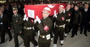 Şehit Astsubayın Cenazesi Kahramanmaraş'ta