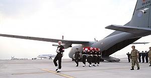 Şehit Askerin Naaşı Kahramanmaraş'ta