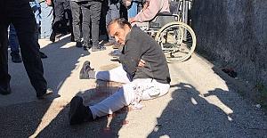 Polisi Bıçakladı Bacağından Vuruldu